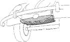 Reservewiel houder
