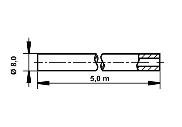 Remleiding | ATE, 8 mm