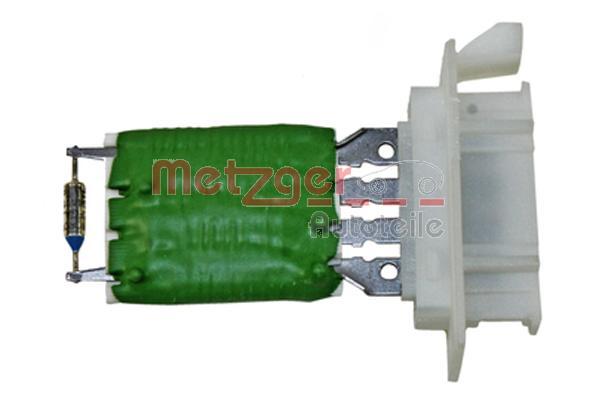 METZGER genuine | , 4-polig, 12 V