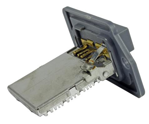 METZGER Weerstand, interieurventilator genuine | , 4-polig, 12 V