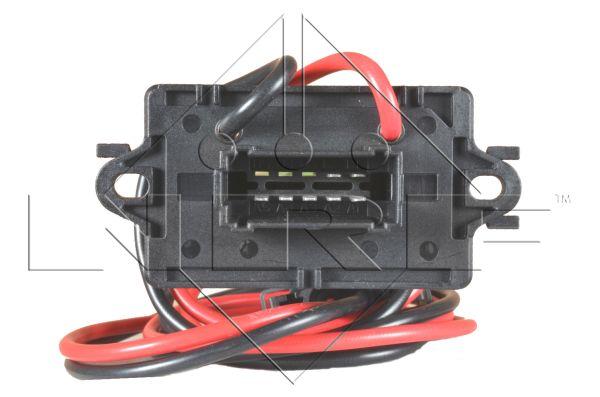 NRF Weerstand, interieurventilator | , 10-polig, 12 V