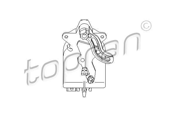 TOPRAN Stel element, mengklep |